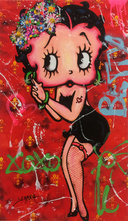 Betty Boop (red)