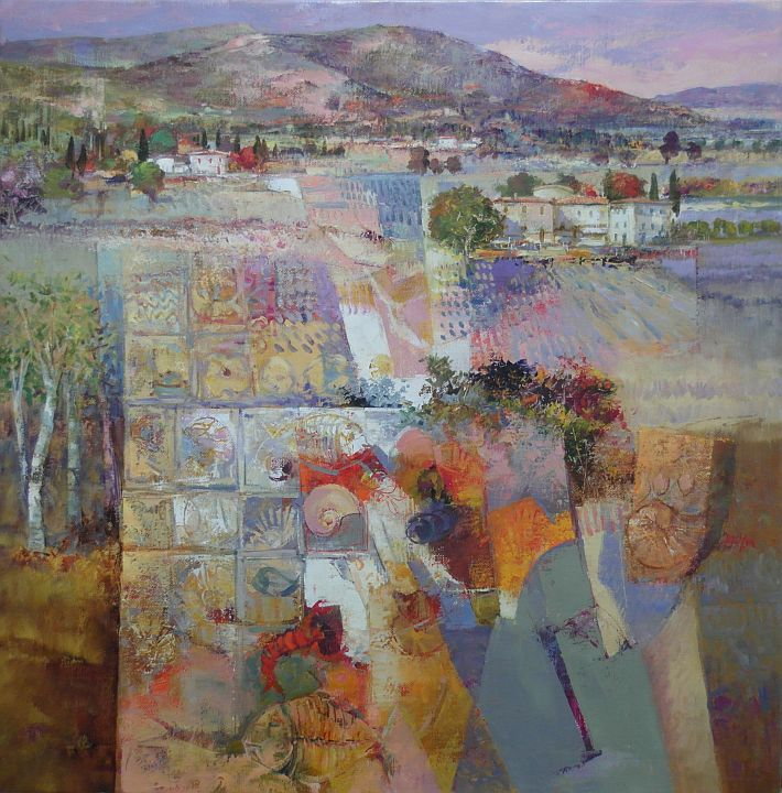 Ein Blick in die Toskana